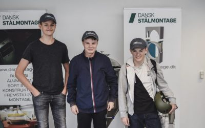 I BROBYGNING HOS DANSK STÅLMONTAGE